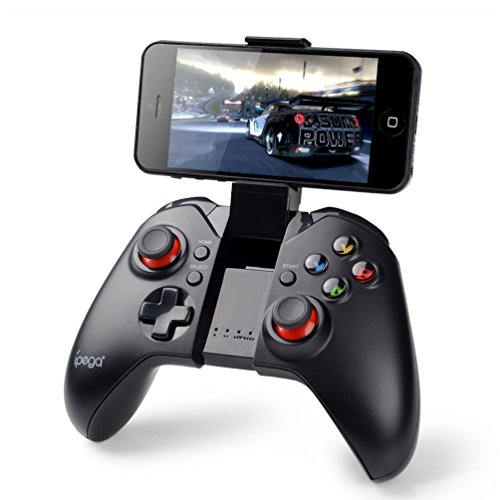PowerLead Gapo PG-9037 Bluetooth Wireless Classic Gamepad Game Controller (with Mouse Function) for Samsung HTC MOTO Addroid TV Box Tablet PC