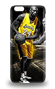 For Iphone 6 Plus Protector Case NBA Los Angeles Lakers Kobe Bryant #24 Phone Cover 3D PC Soft Case