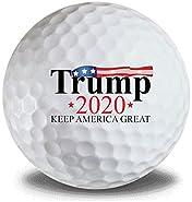 Donald Trump 2020 Keep America Great 3pk Golf Balls