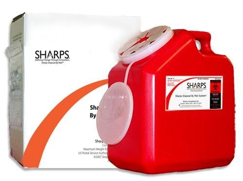 8 qt sharps container - 6