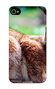 Ellent Design Animal Lynx Phone Case For Iphone 5/5s Premium Tpu Case For Thanksgiving Day's Gift
