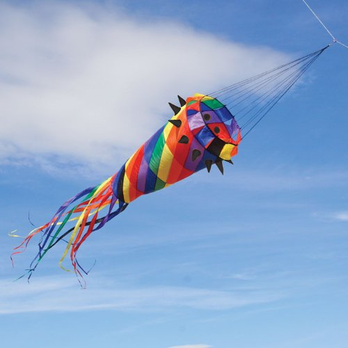 - Nylon Taffeta 11-ft. Spiky Diamond Kite Windsock