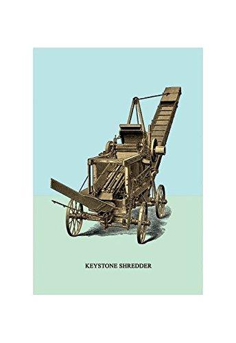 Buyenlarge Keystone Shredder Print (Canvas 24x36)
