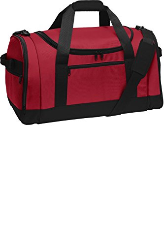 Port Authority luggage-and-bags Voyager Sports Duffel OSFA Red