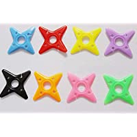 PickUp 5/20/50/100 Pcs Cute Multicolor Soft Silicone Rubber Fish Bone Fishbone Ninja Darts Star Key Cord Winder Cable... occupation