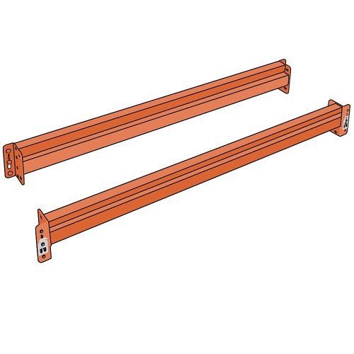 Heavy Duty Pallet Racks (Husky Pallet Rack Solid Beam - 144X6