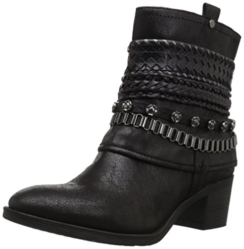 Carlos by Carlos Santana Women's Cole Ankle Boot, Black, 8 M M US