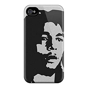 Iphone 4/4s DFf18657Ajai Allow Personal Design Nice U2 Series Scratch Protection Hard Phone Covers -DannyLCHEUNG