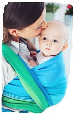 Little Frog Marine Opal Woven Wrap Size 6, 4.6m Baby Carrier