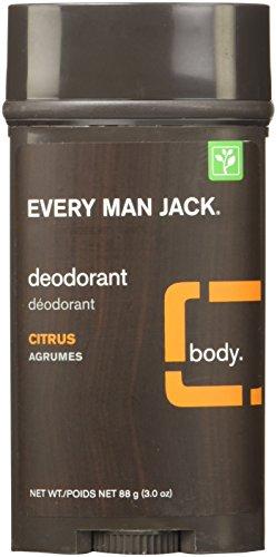 Every Man Jack Deodorant Stick Citrus, 88 Gram
