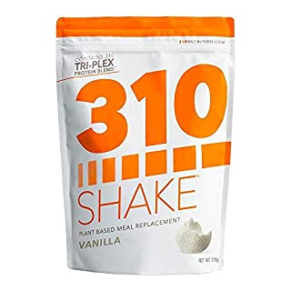 Plant Protein Powder and Meal Replacement Shake   310 Shakes are Gluten and Dairy Free, Soy Protein and 0g of Sugar   Keto and Paleo Friendly   Includes Recipe eBook   (Vanilla, 28 Servings)