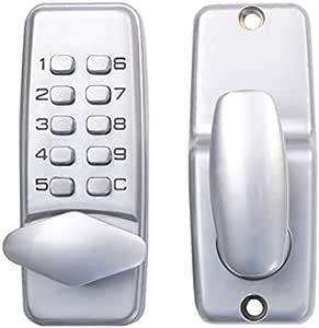 Cerradura mecánica de la apertura de la puerta de la ...