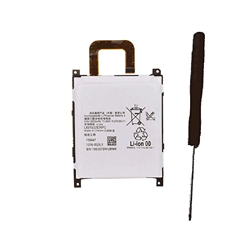 Powerforlaptop Internal Battery For Sony Ericsson C6916 L39T, L39U, Xperia Z1 4G version, Xperia Z1S LIS1532ERPC with Opening Repair Tool Kit