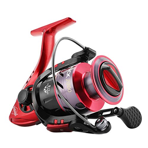 - SeaKnight Puck Spinning Reels 9+1 BB 5.2:1 High Speed Light Weight Ultra Smooth Powerful Spinning Fishing Reel