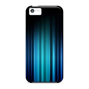 USMONON Phone cases Iphone Iphone 5c Case Cover - Slim Fit Tpu Protector Shock Absorbent Case (mycolours Ice)