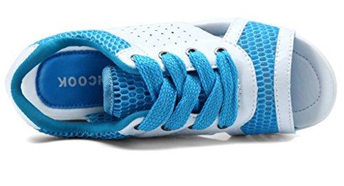 mujer GFONE plataforma plataforma GFONE mujer azul2 vzI4qEw