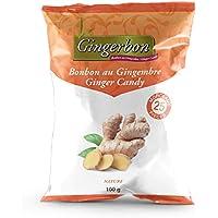 Ginger Candy - Natural - Pack of 25, Ginger, 100 Grams