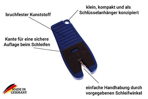 Messerschleifer//Messersch/ärfer original Blitzsch/ärfer Set Keramik Edition Blitzsch/ärfer gro/ß//Miniblitz//Keramiksch/ärfer