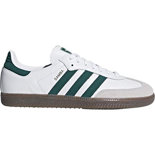 Derbys cgreen white Multicolore Adidas crywht Og Homme Samba Ftwwht 7xEwa