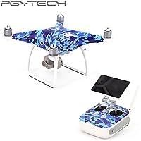 PGYTECH Stickers Skin Decals for Phantom 4 PRO (body+ RC ) Drone with Camera Accessories Quadcopter Drones CA5/CA6/CA11/CA14/CA15 (CA6)