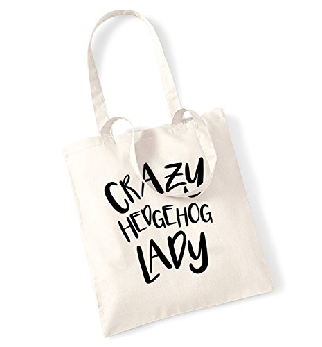tote Crazy hedgehog hedgehog lady bag Crazy Natural xRI1qdIw