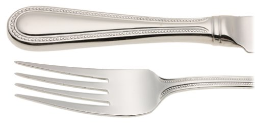 - Wallace Continental Bead Stainless-Steel 65-Piece Boxed Flatware Set, Service for 12  - W4466504