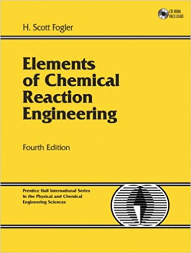 Ebook Elements Of Chemical Reaction Engineering