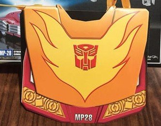 Transformers Takara Tomy Masterpiece MP-28 Rodimus Hot Rod Coin Only