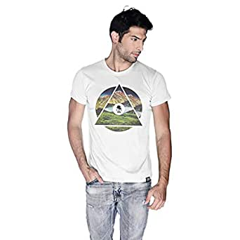 Creo Almaty T-Shirt For Men - M, White