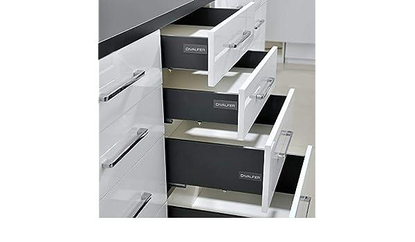 DIVALFER - Distribuidora Valenciana de Ferretería - Cajón Thin Box Modelo 226 Color Blanco 95mm - 28140: Amazon.es: Bricolaje y herramientas