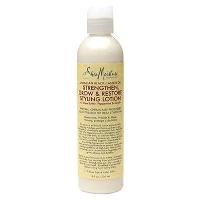 SheaMoisture Strengthen, Grow & Restore Styling Lotion, Jamaican Black Castor Oil8 fl oz