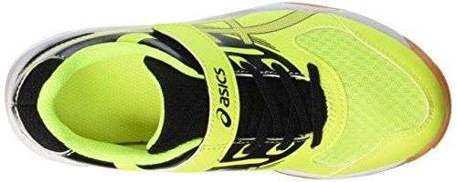0795 Niños Gimnasia Zapatos Amarillo Unisex dark Ps Yellow Grey black 2 De Upcourt safety Asics t0xnwCf6t