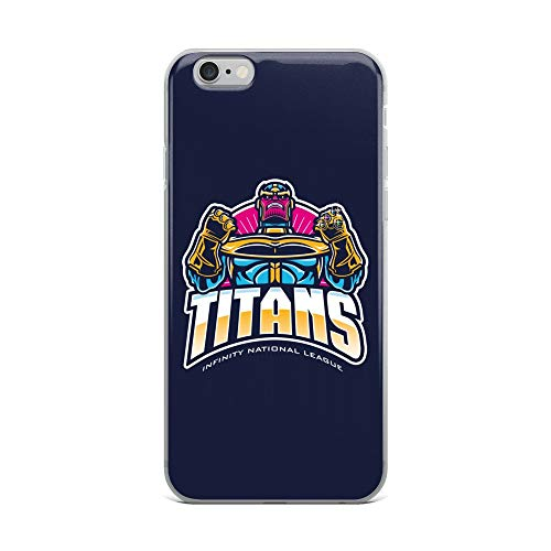 iPhone 6 Plus/6s Plus Case Anti-Scratch Comic Strip Transparent Cases Cover Titans Inl Comics Comedian Crystal - Salt Titans Tennessee