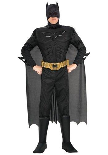 Adult Deluxe Dark Knight Batman Costume Small