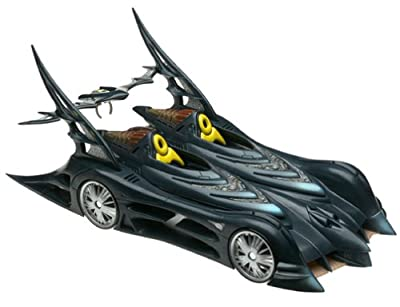 "Batman Batmobile Vehicle for 6"" Action Figures (2003 Mattel)"