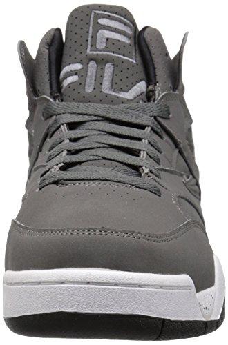 Fila Heren M Squademanier Sneaker Castlerock / Zwart / Wit
