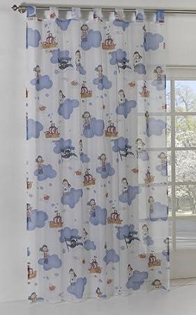 Helm   cortinas infantiles (140 x 245 cm), diseño de piratas ...