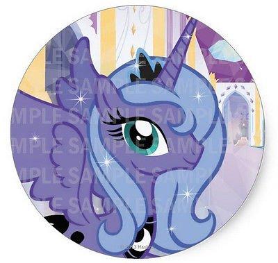 "SDore My little pony princess luna 8"" Round Edible Birthd..."