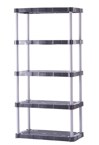 Amazon Rubbermaid 7086 72 Inch Five Shelf Shelving Unit Home Kitchen