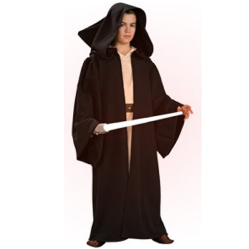 [Deluxe Hooded Sith Robe Costume - Small] (Child Darth Maul Costumes)