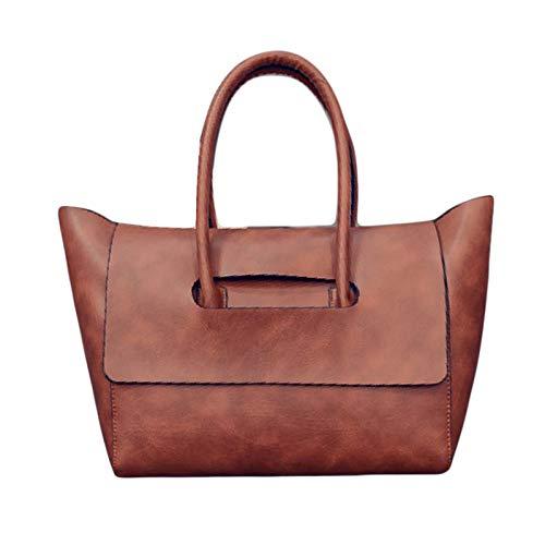 De Handbag Limotai Brown Main Femmes Marque Sac Casual Grand Bag Ladies À Dame Printemps Pu wawUqS7W