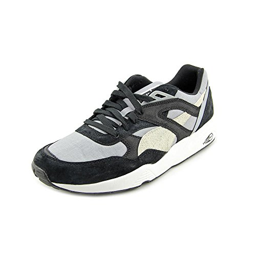 Puma Mens Trinomic R698 Gatu Sneakers Svart / Pool Blå / Peacoat