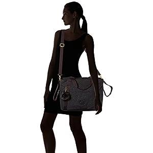 Kipling LITTLE HEART School Bag, 50 cm, 19 liters, Black (Black Pylon Emb)