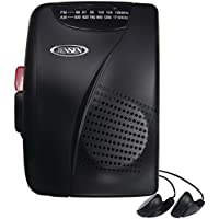 JENSEN JENSCR70, Cassette Player/Recorder with AM/FM Radio
