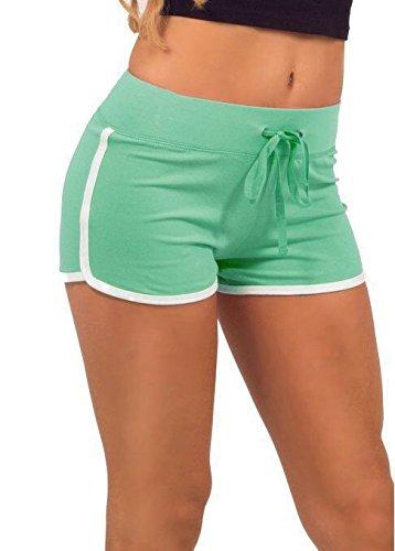 vívido y de gran estilo detalles para costo moderado hippolo Verano Pantalones de Mujer pantalón Corto de Deporte ...