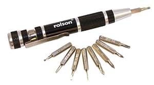 Rolson - Juego de destornillador de precisión 9 en 1