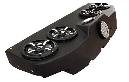 Froghead Industries CCP304LB Four Speaker Bluetooth AM/FM Stereo System With LED Light Bar And RGB LED Speakers by Froghead Industries (Image #1)