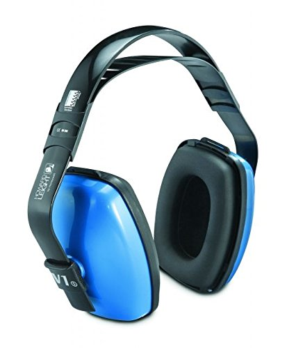 Three Position, 25 NRR, Black and Blue - Three Position Earmuff