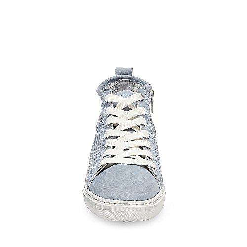 Steve Madden Donna In Pelle Scamosciata Di Camoscio Blu Moda Sneakers Blu Nabuk