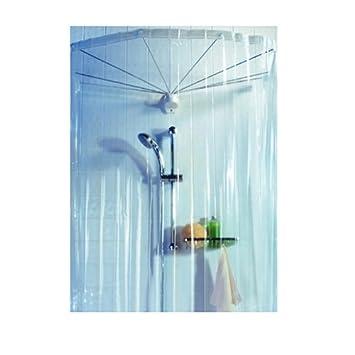 Spirella Ombrella Clear 1004436 Telaio a ombrello per doccia, con ...